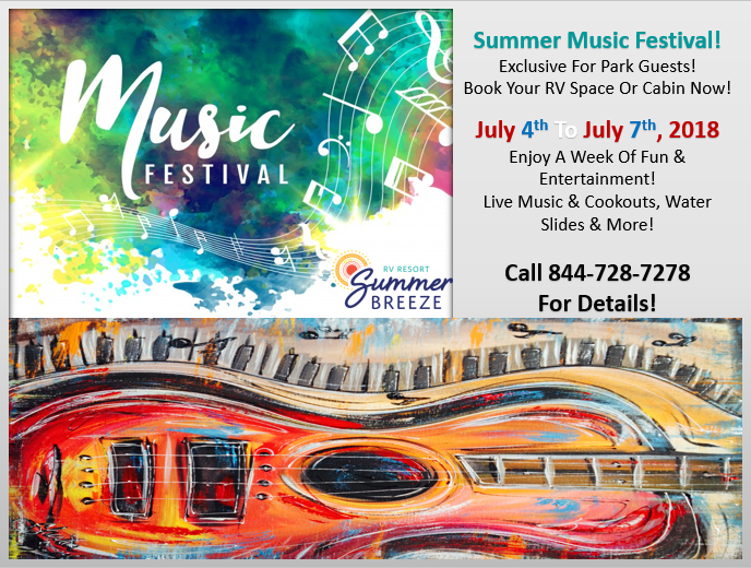 Music Festival July 2018 - General Flyer