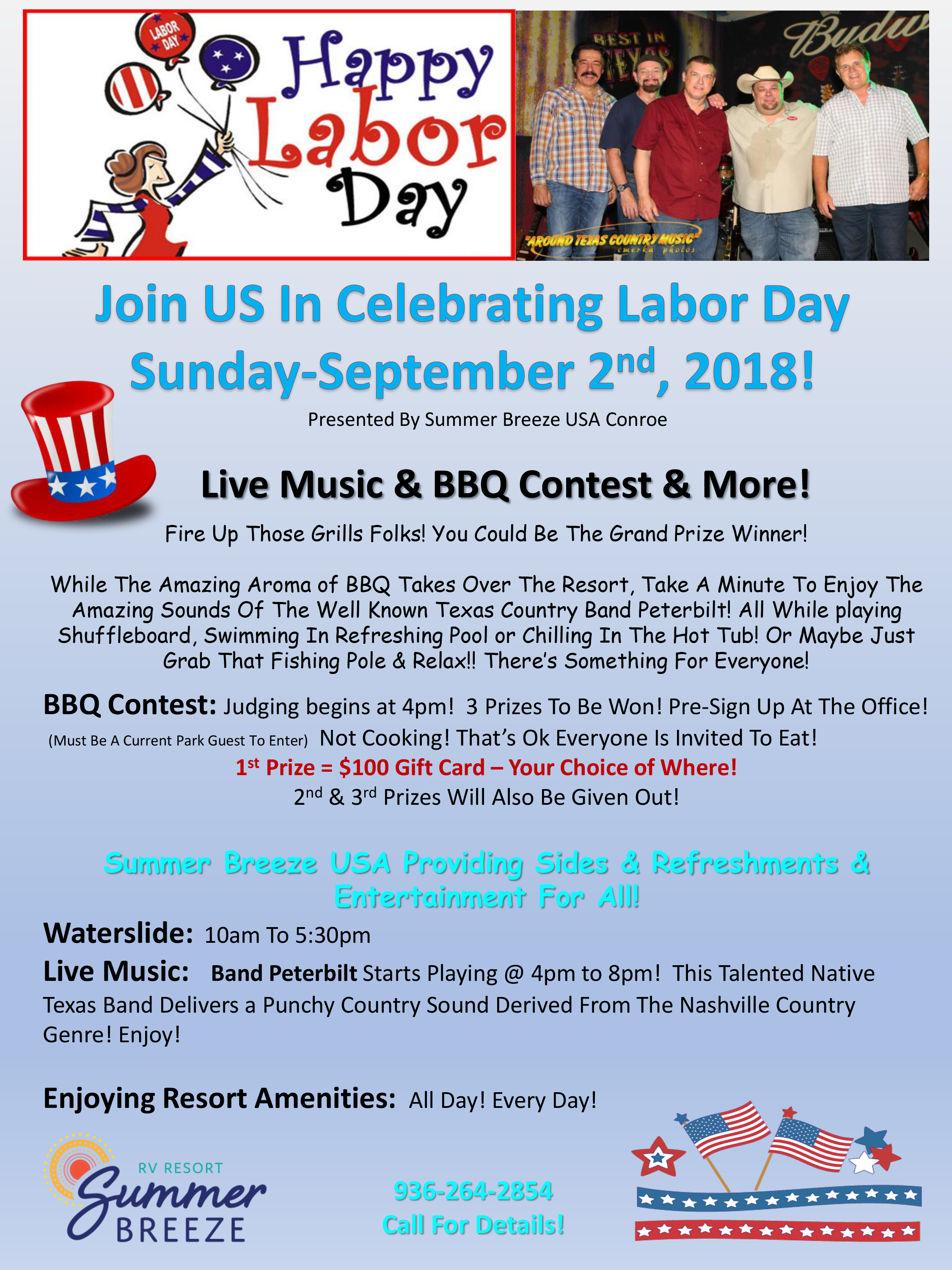 Labor Day Flyer-Conroe 2018 Revised